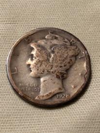 1928 Merc obverse
