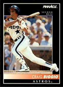 biggio 1992 pinnacle