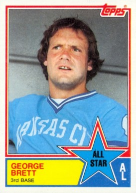 George Brett 1983 All Star