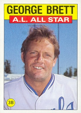 George Brett 1986 Topps All Star
