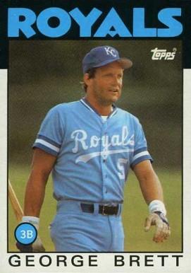 George Brett 1986 Topps