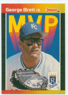 George Brett 1989 Donruss MVP