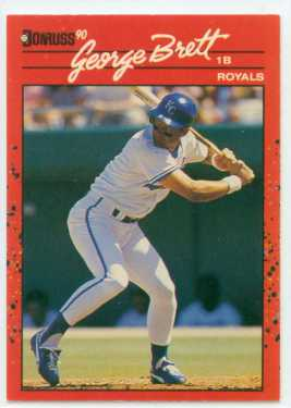 George Brett Donruss 90