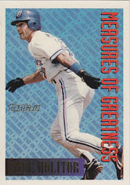 molitor topps measures of greatness 94