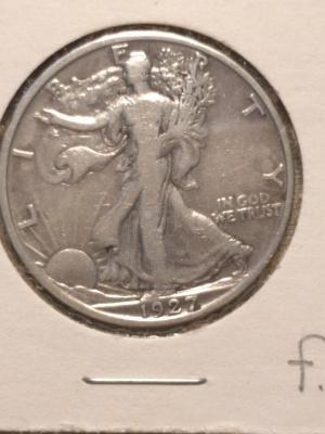 1927 s walker obverse