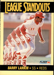larkin fleer 90 league standouts