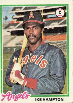 Angels 1978 Topps Ike Hampton F
