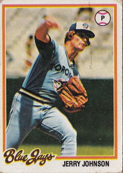 Blue Jays 1978 Topps Jerry Johnson F