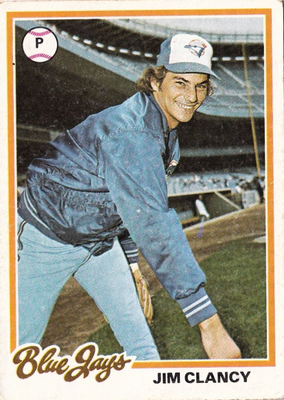Blue Jays 1978 Topps Jim Clancy F