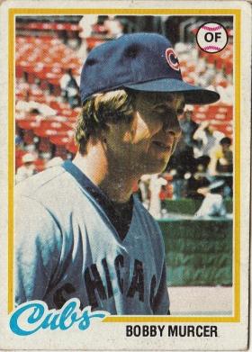 Cubs1978 Topps Bobby Murcer F