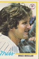 Mets 1978 Topps Bruce Boisclair F