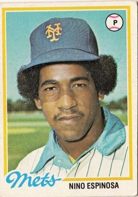 Mets 1978 Topps Nino Espinosa F