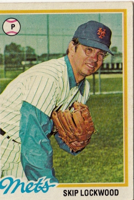 Mets 1978 Topps Skip Lockwood F