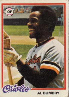 Orioles 1978 Topps Al Bumbry F