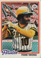 Pirates 1978 Topps Frank Taveras F
