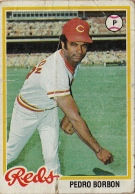 Reds 1978 Topps Pedro Borbon F