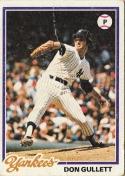 Yankees 1978 Topps Don Gullett F