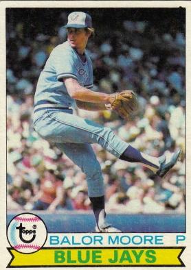 Blue Jays 1979 Topps Balor Moore F