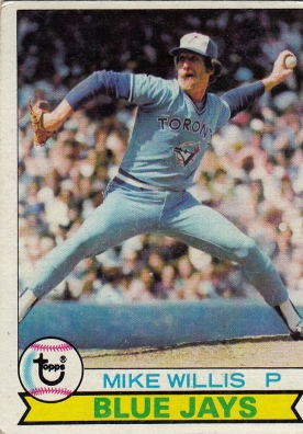 Blue Jays 1979 Topps Mike Willis F