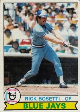 Blue Jays 1979 Topps Rick Bosetti F