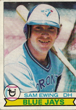 Blue Jays 1979 Topps Sam Ewing F