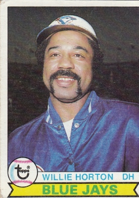 Blue Jays 1979 Topps Willie Horton F