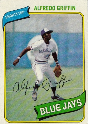 Blue Jays 1980 Topps Alfredo Griffin F