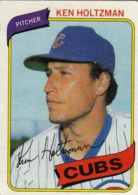 Ken Holtzman Chicago Cubs Baseball Card
