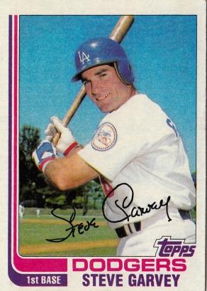 Dodgers 1982 Topps Steve Garvey F