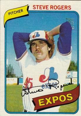 Expos 1980 Topps Steve Rogers F