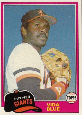 Vida Blue Baseball Card