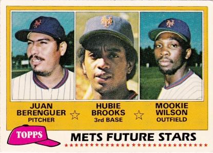 Mets 1981 Topps Future Stars F