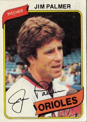 Jim Palmer Baseball Card