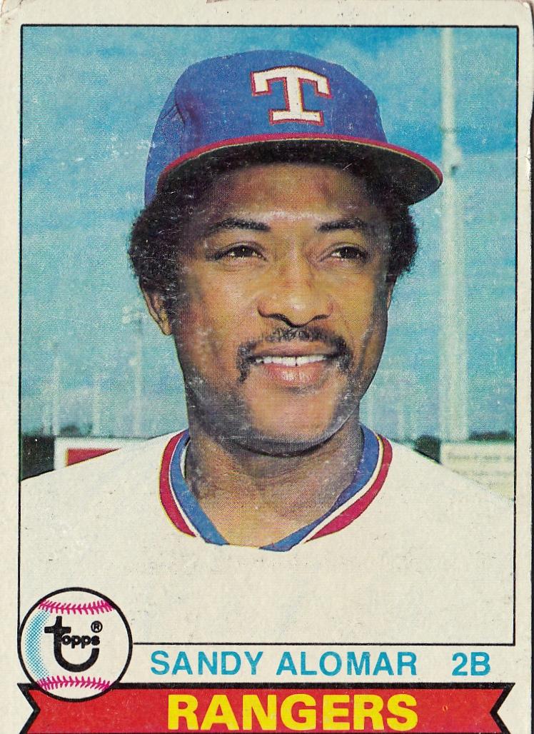 Rangers 1979 Topps Sandy Alomar F