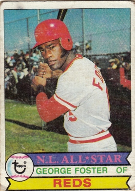 Reds 1979 Topps George Foster AS F