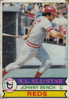 Reds 1979 Topps Johnny Bench AS F