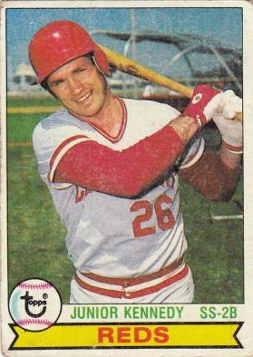Reds 1979 Topps Junior Kennedy F