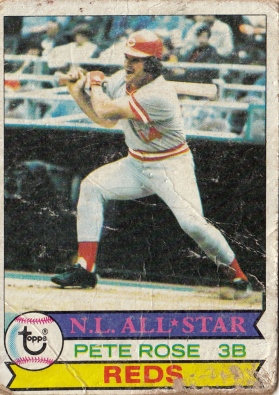 Reds 1979 Topps Pete Rose AS F