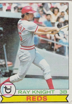 Reds 1979 Topps Ray Knight F