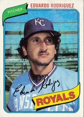 Royals 1980 Eduardo Rodriguez F