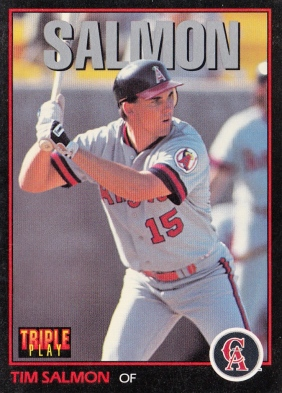 Tim Salmon Triple Play F
