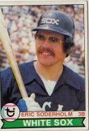 White Sox 1979 Topps Eric Soderholm F