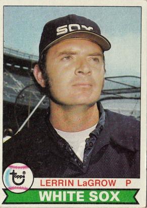 White Sox 1979 Topps Lerrin LaGrow F