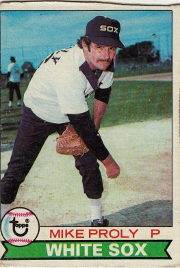 White Sox 1979 Topps Mike Proly F