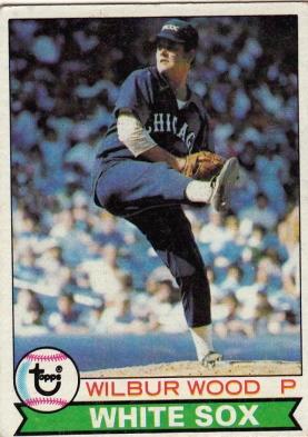 White Sox 1979 Topps Wilbur Wood F