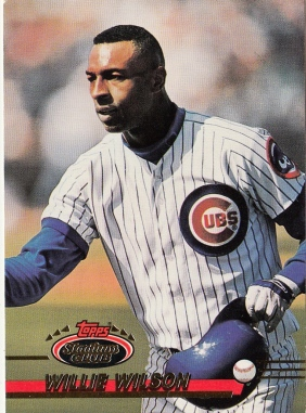 Willie Wilson Stadium Club 1993 F