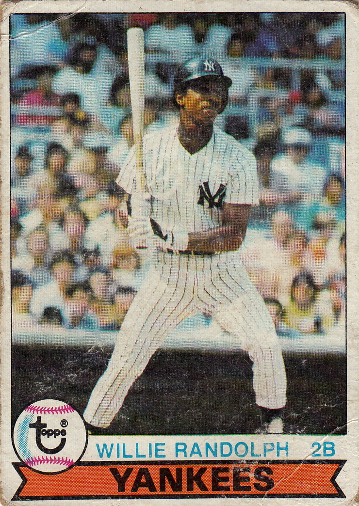 Yankees 1979 Topps Willie Randolph F