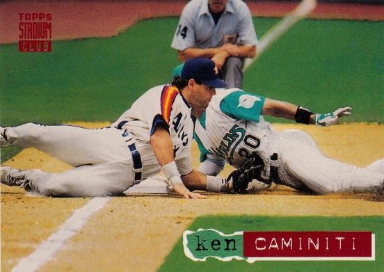 Astros 1994 Stadium Club Ken Caminiti F