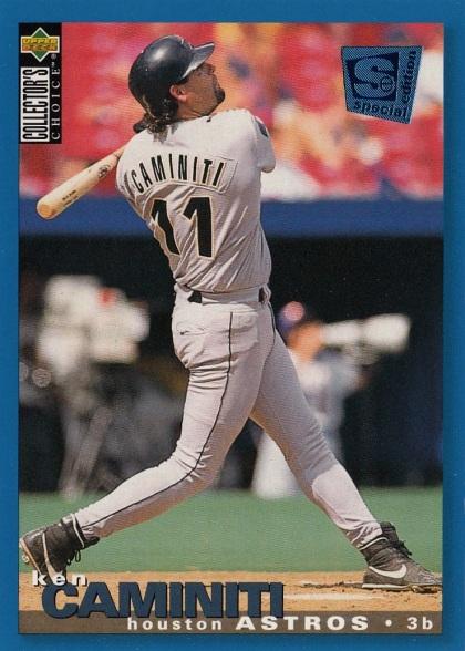 Astros 1995 Upper Deck CC Ken Caminiti F