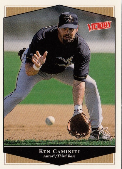 Astros 1999 Upper Deck Victory Ken Caminiti F